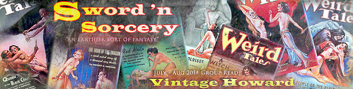 sword and sorcery groupread july aug 2014 - vintage howard - brundage