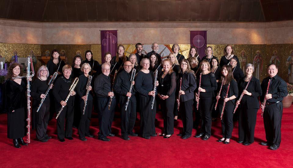 Magicflutes Flute Orchestra directed by Pamela Ravenelle