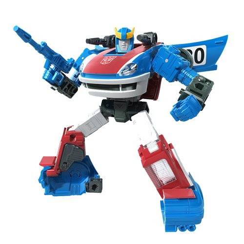 Image of Transformers Generations War for Cybertron Earthrise Deluxe Wave 2 - Smokescreen - JULY 2020