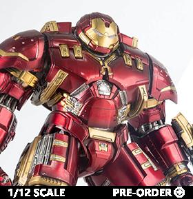 Avengers: Age of Ultron Die-Cast Iron Man Mark XLIV Hulkbuster 1/12 Scale Figure
