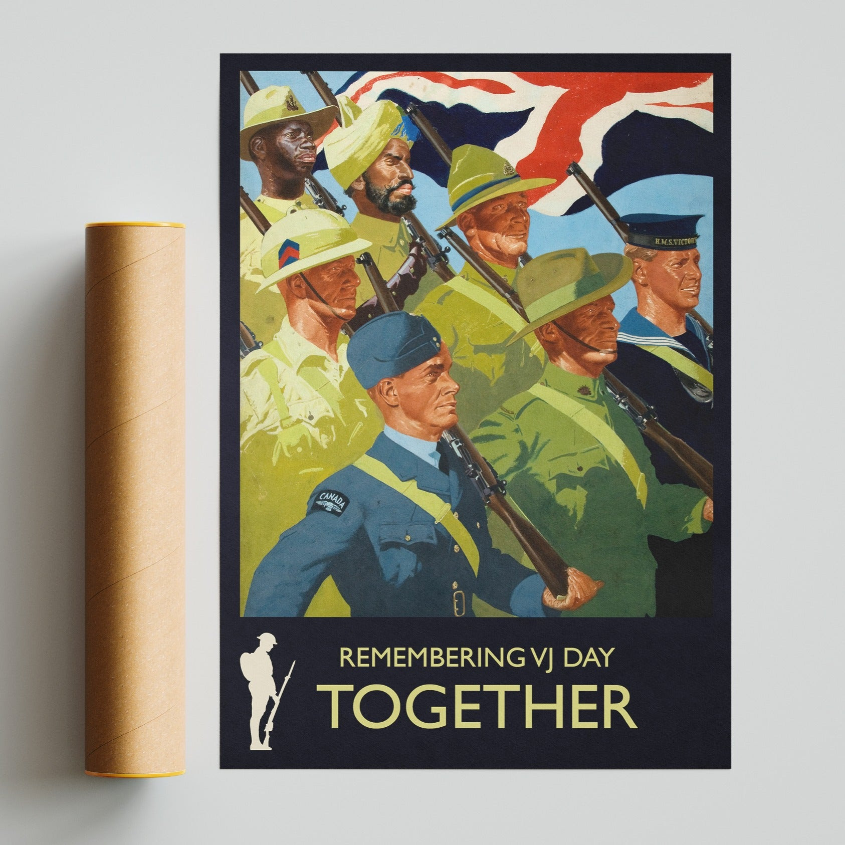 VJ Day A3 Poster