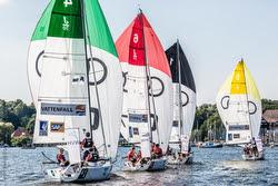J/70s sailing Germany sailing league