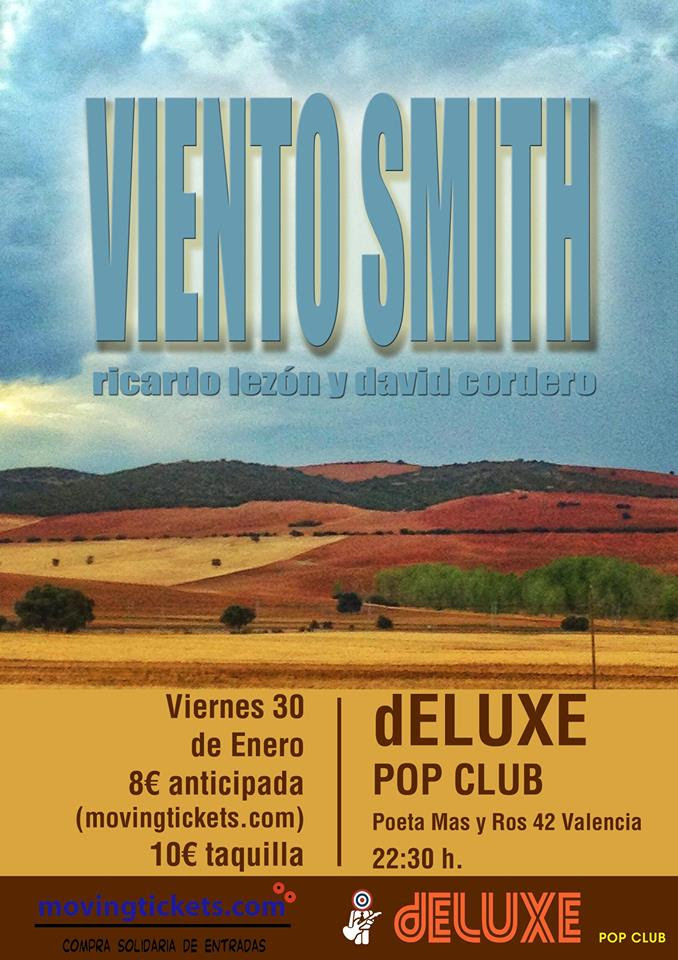 Cartel Viento Smith Valencia