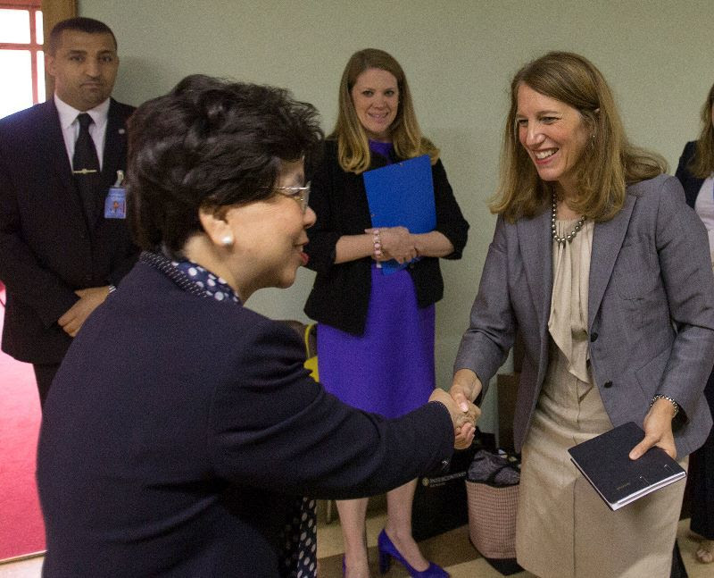 Bilateral Meeting with Director-General of the World Health Organization (WHO), Dr. Margaret Chan.