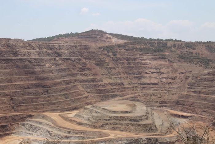 Las minas de Los Filos y Bermejal en Guerrero. Foto: Cuartoscuro.