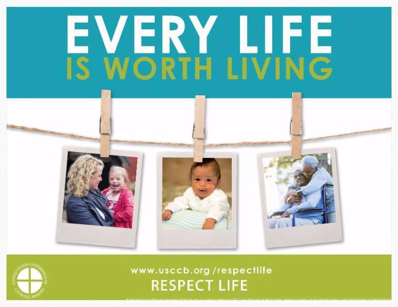 Respect Life Materials