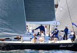 J/145 sailing Islands Race