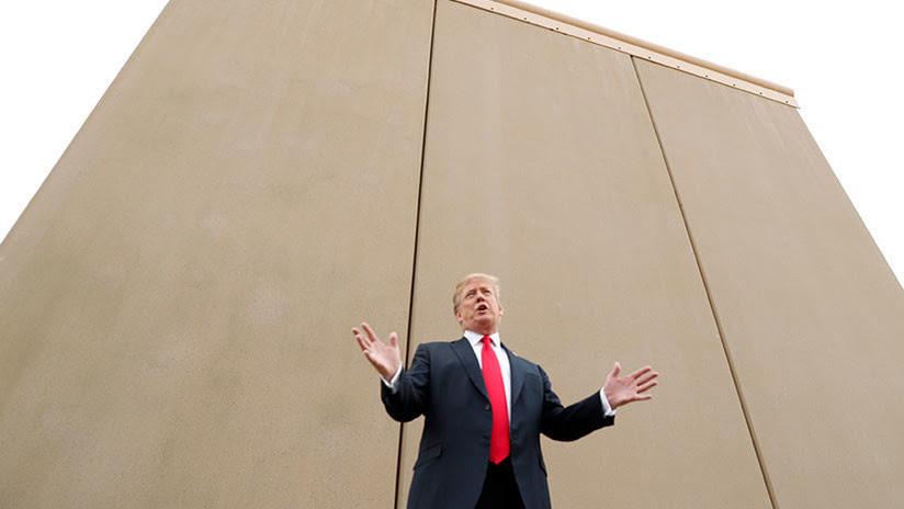"""Trump afirma que el muro entre EE.UU. y México será """"hermoso"""" y """"diseñado artísticamente"""""""