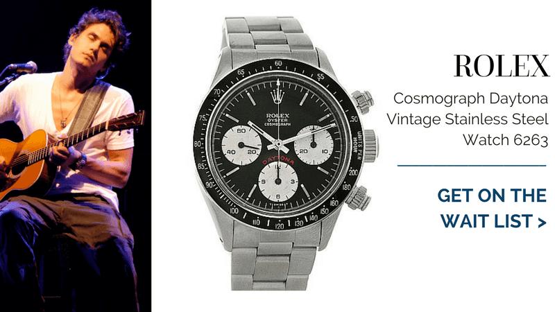 Rolex Cosmograph Daytona Vintage Stainless Steel Watch