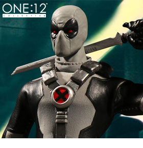 MARVEL ONE:12 COLLECTIVE X-FORCE DEADPOOL PX PREVIEWS EXCLUSIVE
