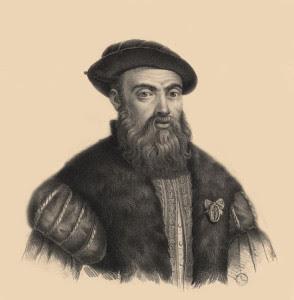 Retrato de Magallanes.