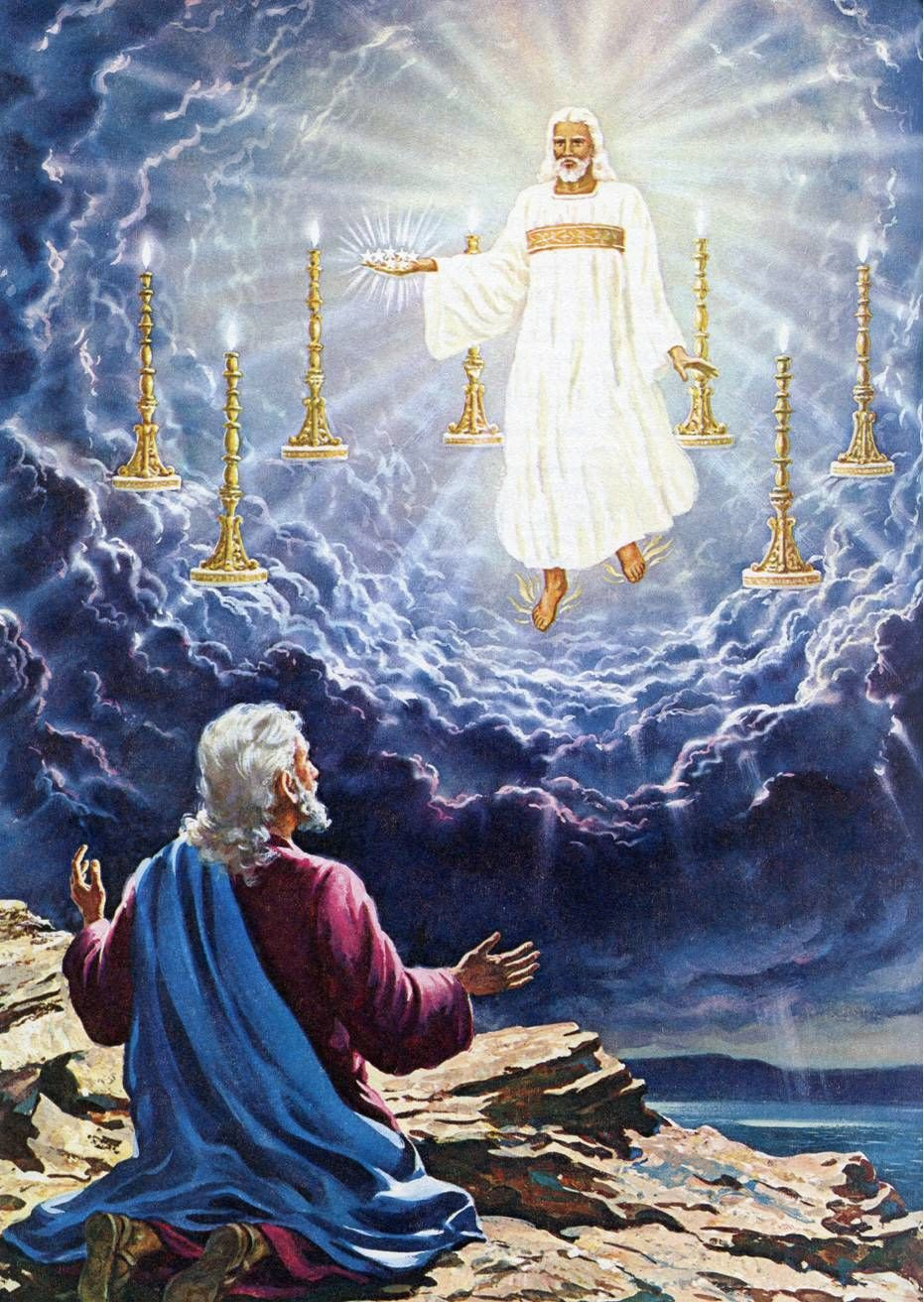 The Things Past (Rev 1:9-20) | Pictures of jesus christ, Bible pictures,  Jesus pictures