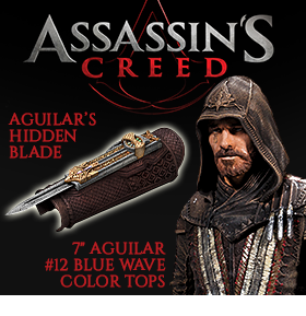 ASSASSIN'S CREED 2016 MOVIE ITEMS