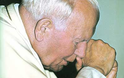 Święty Jan Paweł II w ostatnim okresie swego życia