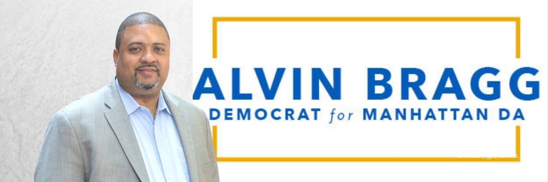 Democrat Alvin Bragg for Manhattan DA