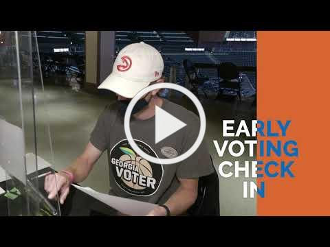 2020 Elections Early Voting Machines