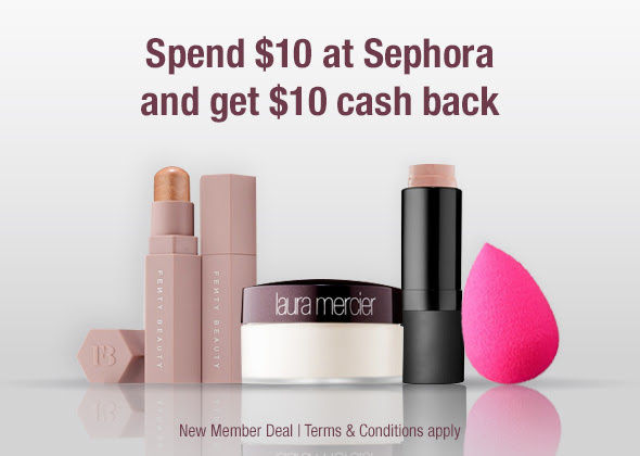 FREE $10 to Spend at Sephora + 15% off