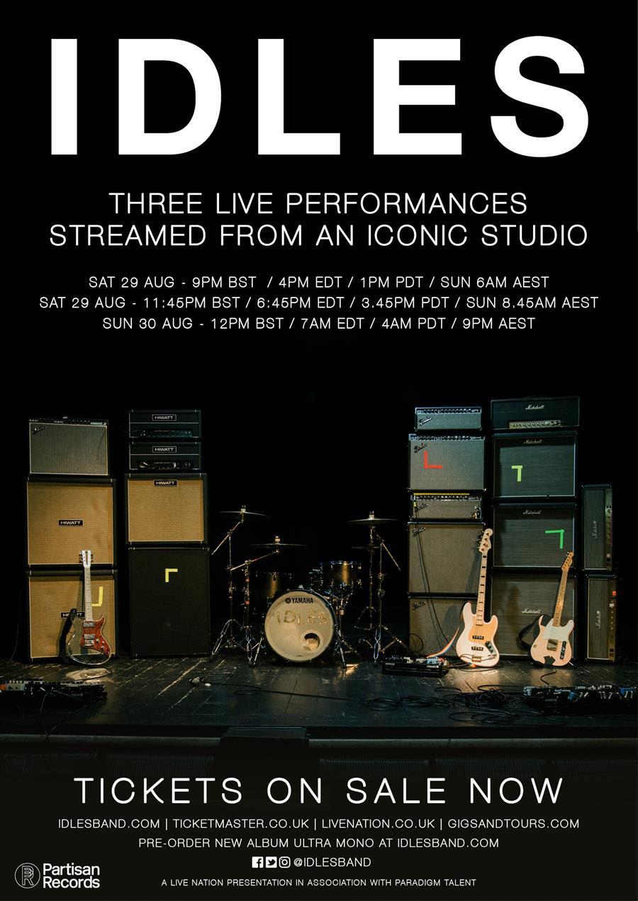 IDLES announce new album