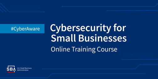 Cybersecurity for small businesses online training course