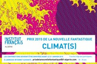 Concours : Prix 2015 de la nouvelle fantastique d'expression française en Algérie