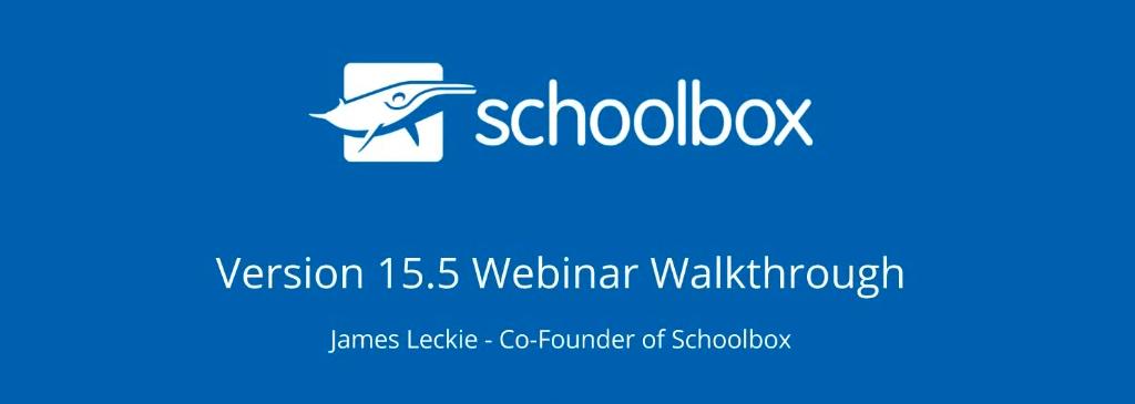 Watch the recorded 15.5 walkthrough webinar