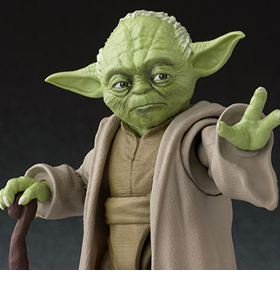 STAR WARS S.H.FIGUARTS YODA EXCLUSIVE