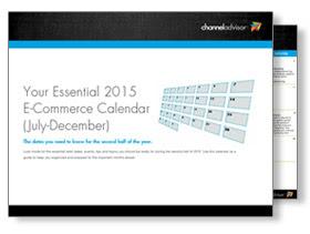 Click to get your essential 2015 e-commerce calendar