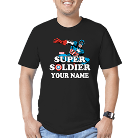 Super Solider Personalized T-Shirt