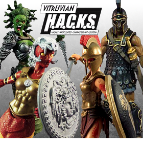 VITRUVIAN H.A.C.K.S. FIGURES AND ACCESSORIES