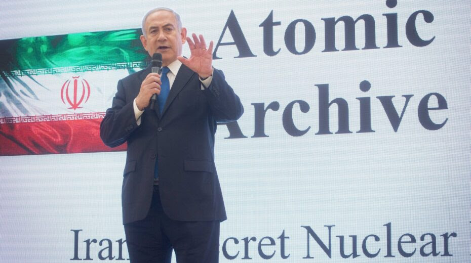 Netanyahu explains Iran nuclear threat, and says Israel will act against it.