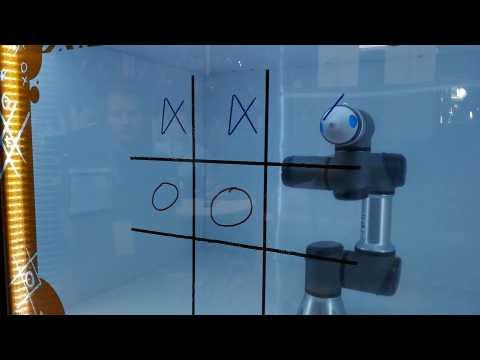 Myro, le robot qui joue aux morpions