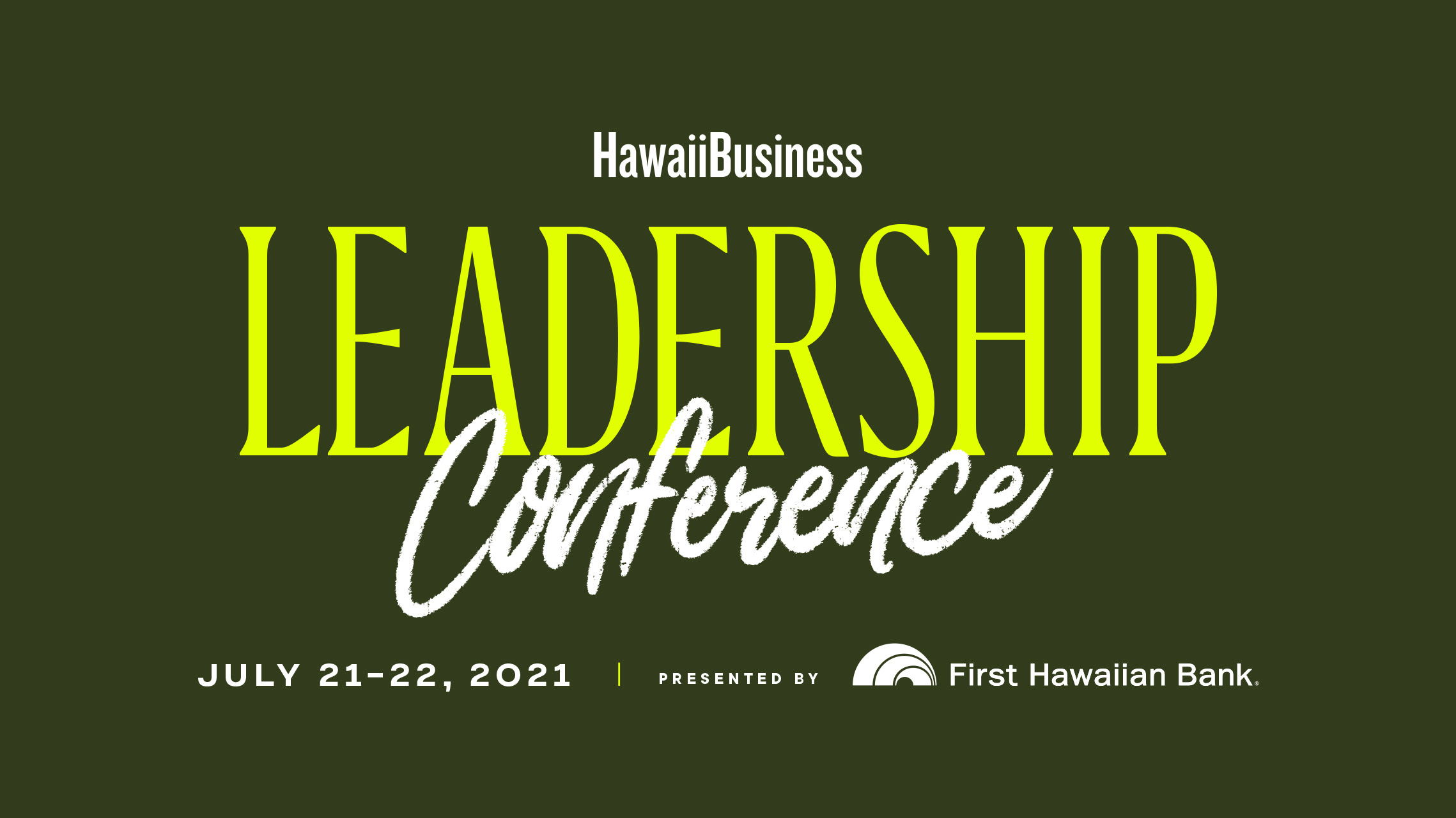 Click here to learn more about this year's Leadership Conference!
