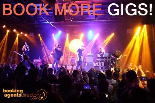 book more gigs with agent directory