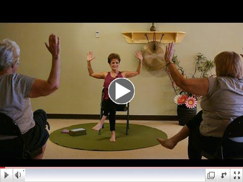 Happy Cactus and Eagle Chair Yoga Sequence with Tatis Cervantes-Aiken