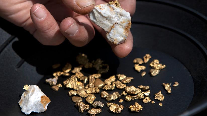 Australia: Descubren muestras de un oro muy raro por valor de más de 10 millones de dólares