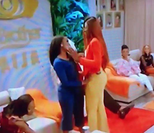#DoubleWahalaReloaded: Big Brother Naija Housemates, Alex And CeeC 'Make-up' [Video]