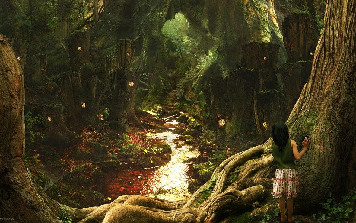 fantasy art scenery wallpaper phil mcdarby 02