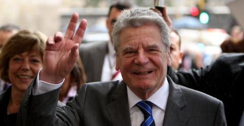 Joachim Gauck, presidente de Alemania. EFE