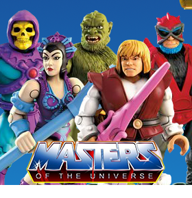 Masters of the Universe Mega Construx Heroes