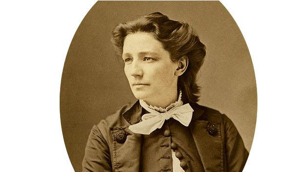 Victoria Woodhull, foto de Mathew Brady, Wikimedia Commons