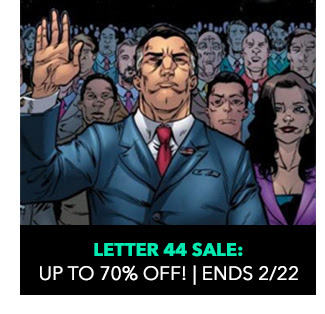 Letter 44 Sale: up to 70% off! Ends 2/22.