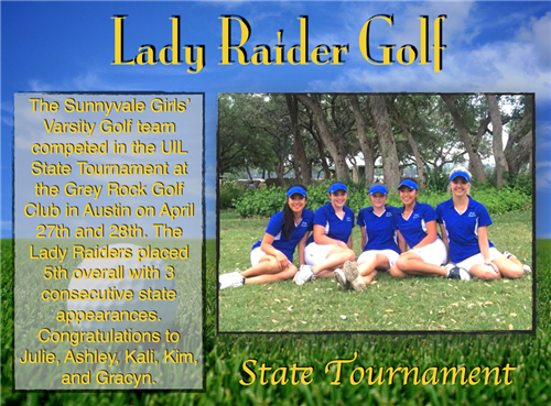 Lady Raider Golf