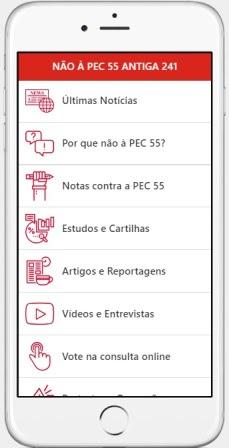 aplicativo PEC