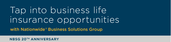 Tap into business life insurance opportunities with Nationwide Business Solutions Group | NBSG 20th Anniversary