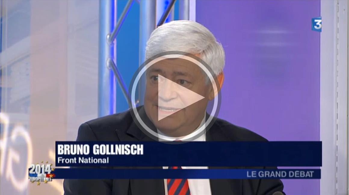 Bruno Gollnisch sur France 3