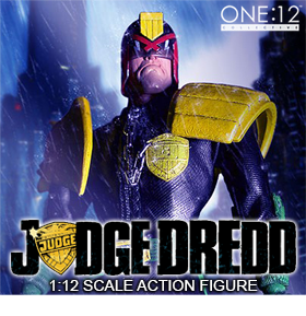 1:12 SCALE JUDGE DREDD ACTION FIGURE