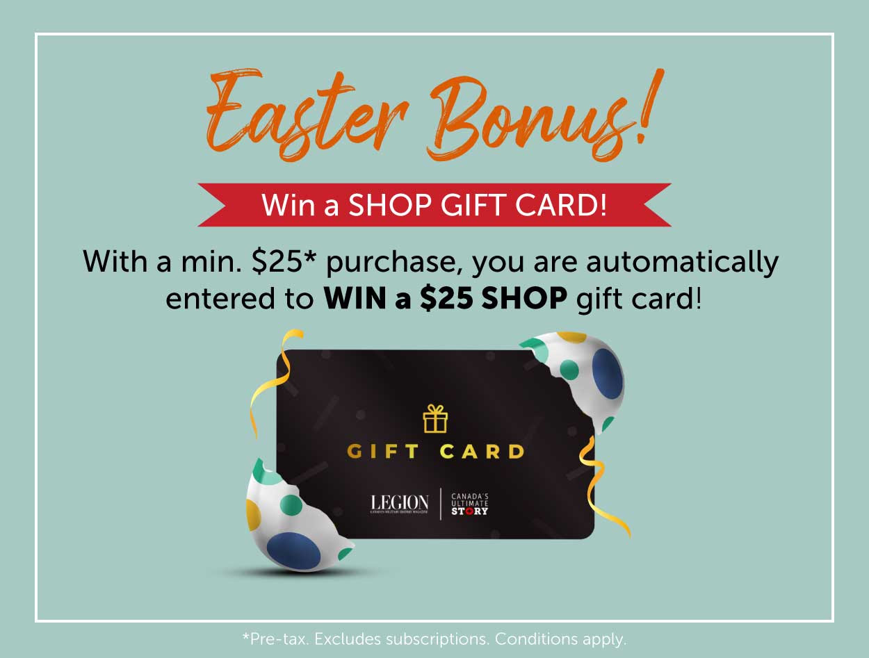 Easter BONUS! Win a GIFT CARD!