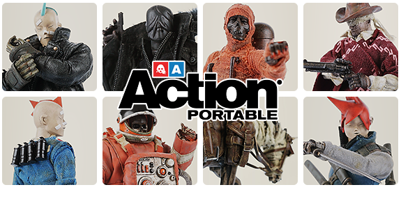 1/12 SCALE ASHLEY WOOD POSABLE FIGURES