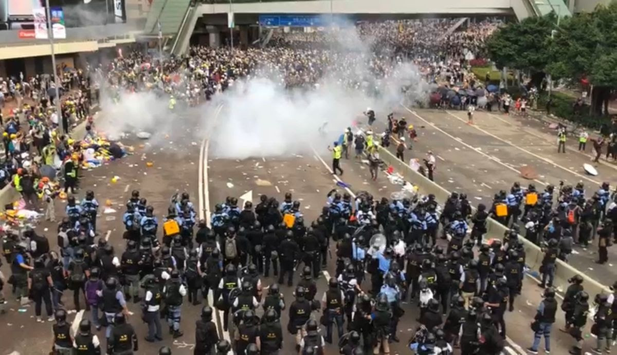 Picture of Hong Kong riots