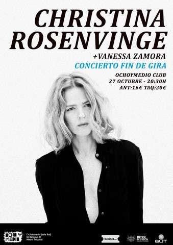 Concierto de Christina Rosenvinge y Vanessa Zamora en Ochoymedio